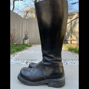 John Fluevog Black Cece Boots Size 6/7